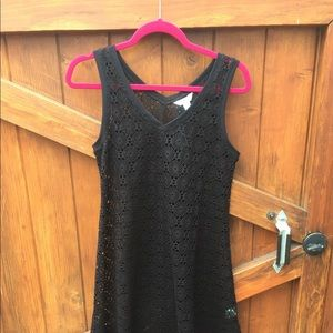 #35 balance collection blk coverup dress small