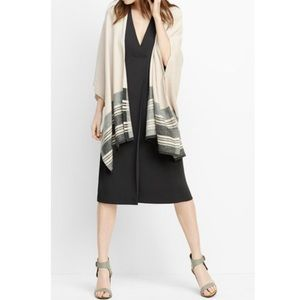Vince Wool/Cashmere Blend Poncho