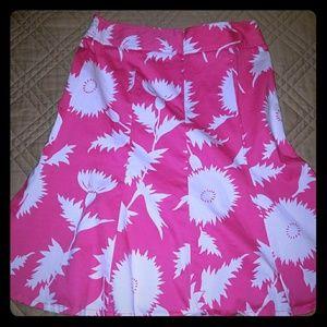 Isaac Mizarhi for Target -pink floral skirt