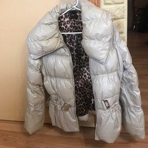 Puffy Express dress jacket in tan