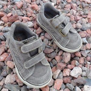 Circo Khaki Distressed Sneakers Baby Toddler Boy 6