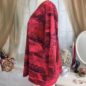 C.M.C. Tops - C.M.C. Red Long Sleeved Shirt