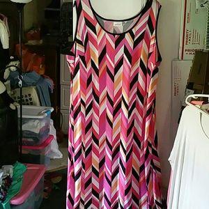 Avenue Sleeveless Maxi Dress sz 26/28
