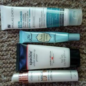 Primer and pre makeup mosturizer set