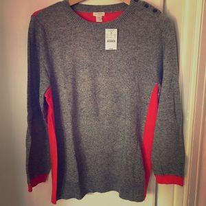 J. Crew NWT Fall Sweater