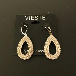 Vieste CZ Drop Earrings