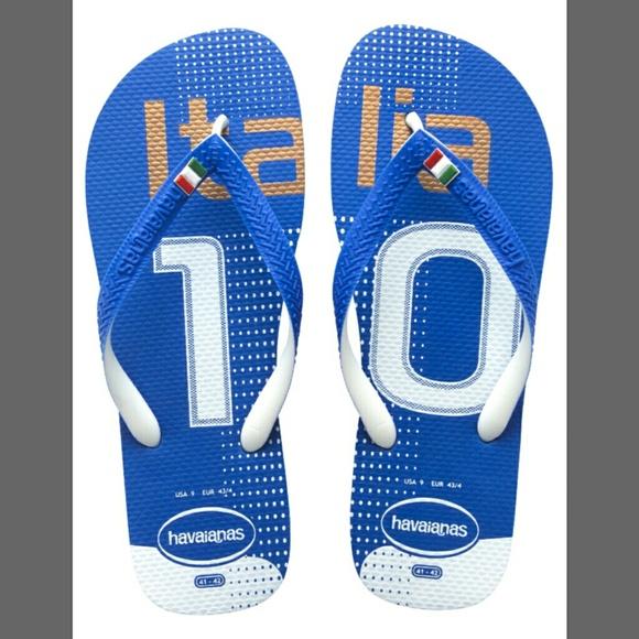 Mens Havaianas Team Italia Flip Flops