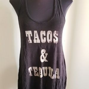Tacos & Tequila Tank Top