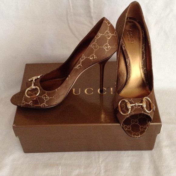 Gucci Shoes | Metallic Gucci Stiletto