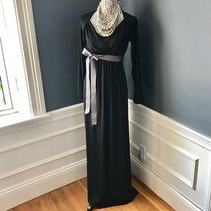 MATERNITY 💗 NWT Imanimo Black Maxi Dress
