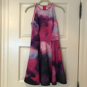 Ted Baker Multi Colored Skater Dress
