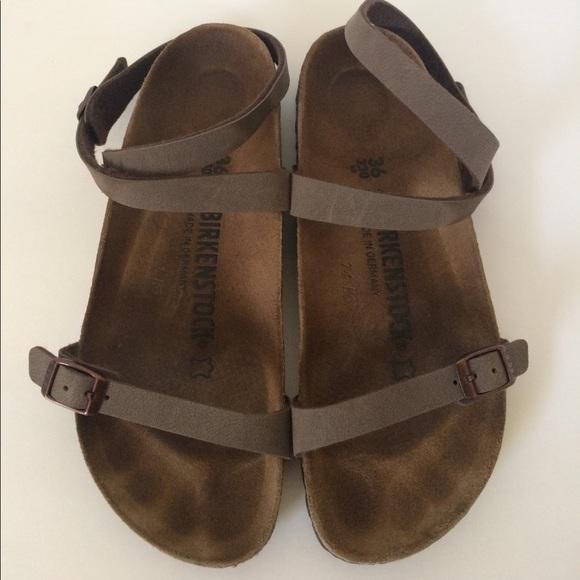 Birkenstock Daloa Sandals Mocha Brown 36