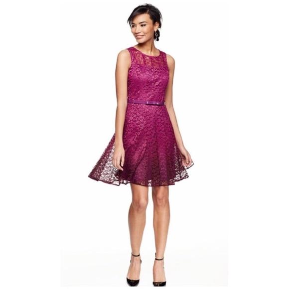 add7e6c7 chetta b Dresses   Nwt Ombr Fit Flare Lace Dress   Poshmark