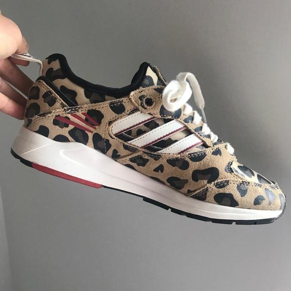 Zapatillas adidas zapatos leopardo 2017 poshmark edicion limitada