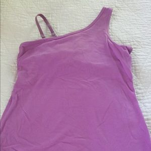 Beyond Yoga Tops - Beyond Yoga one shoulder top with removable strap