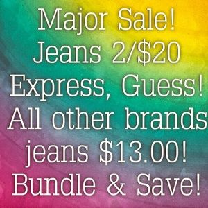 MAJOR SALE! 🎉 My entire closet is on sale! 🎉