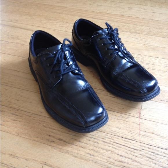 Nunn Bush Mens Maxwell,Black Leather,US 12 W