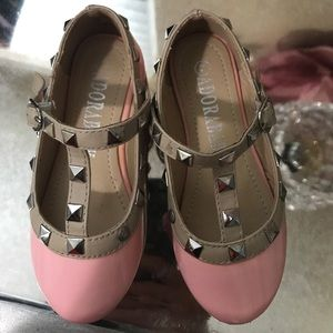 Other - Light pink dress shoes for baby girl