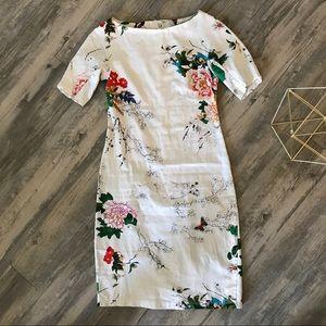 Women's Floral Body-con Dress ❗️Final Price❗️