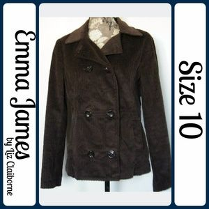 Sz 10 Emma James Corduroy Blazer jacket