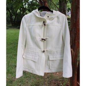 Old Navy Toggle White Coat