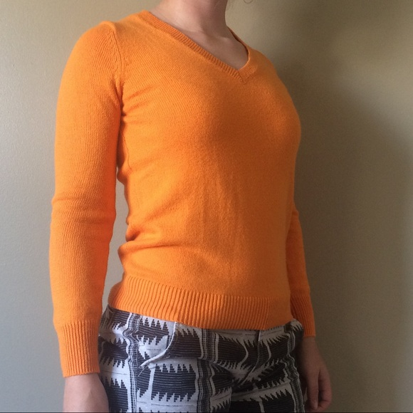 29% off Old Navy Sweaters - NWOT Old Navy Orange Sweater from ...
