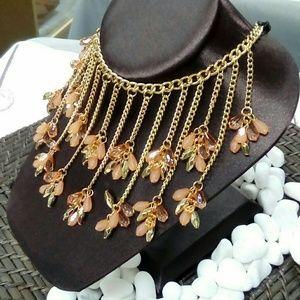 Deja Vous Jewelry - NWT Peach Strand Necklace