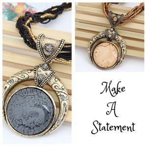 Jewelry - Bohemian Retro Crystal Necklace