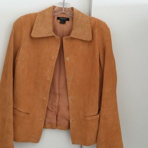 "Karen Kane ""Peachy"" Suede jacket . Excellent shape"
