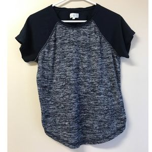 Lou & Grey Blue and Grey Tee