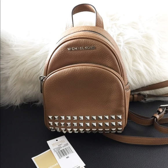 a567fd3756 Michael Kors Abbey XS Studded Backpack. M 59af09723c6f9f3493009bf0