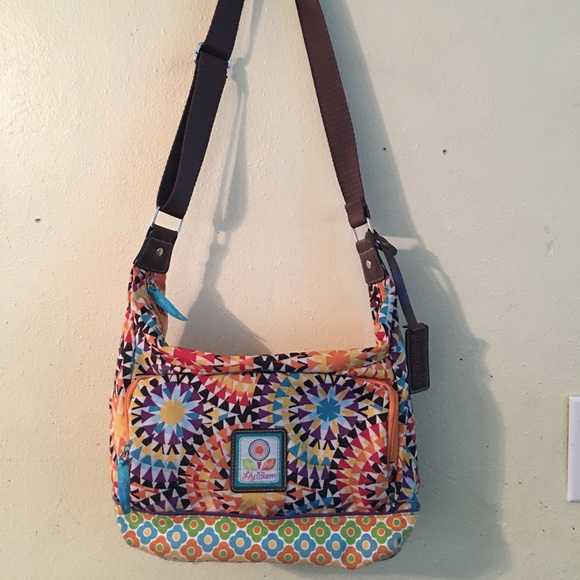 lily bloom Bags   Kaleidoscope Yellow Orange Purple Teal   Poshmark 791fb34436