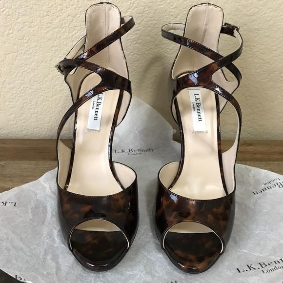 32740ba00383 LK Bennett Shoes - New LK Bennett Serena Tortoise Heels 38 (size 8)