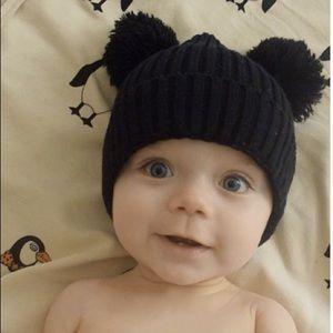 Other - Mickey Pom Pom baby beanie