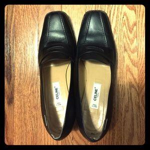 Authentic vintage Celine block heels size 38.5
