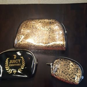 Juicy couture cosmetic bags