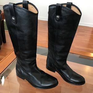 46cbc4d8512 Frye Shoes - PRICE FIRM Frye Melissa Button Boots Narrow Calf