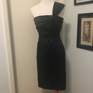 Vintage Style Bebe Silky Cocktail Occasion Dress