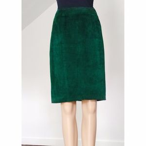 Dresses & Skirts - Genuine Leather Suede Skirt