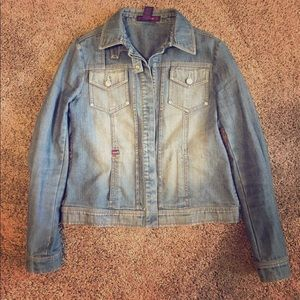 BCBG MAXAZRIA DEnim Jacket
