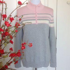 St. John's Bay Cotton Knit Turtleneck Sweater