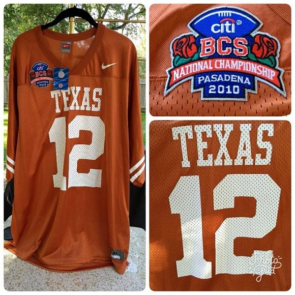 Nike Texas Longhorns Colt McCoy  12 Jersey - XL bd6b99708