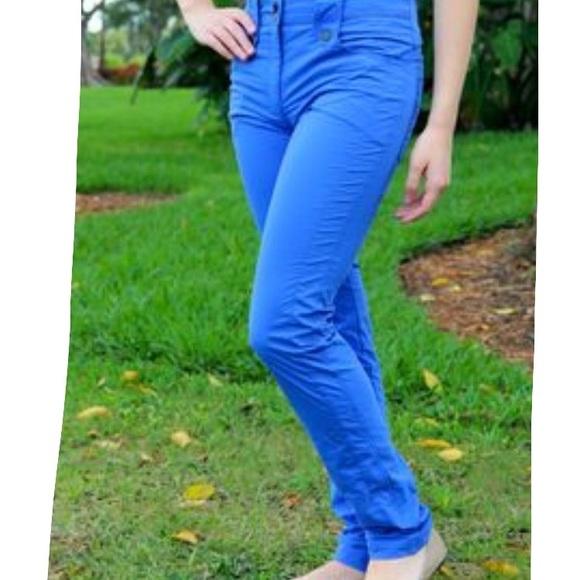 Anatomie Pants | Skylar Xl Electric Blue | Poshmark
