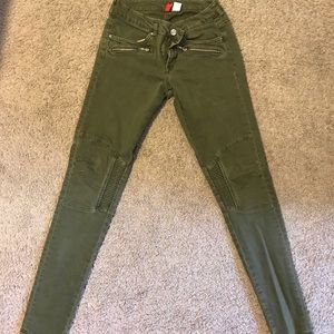 Olive Green H&M Jeans