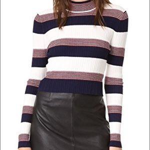 Sweaters - Again Winona striped sweater