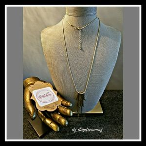Jewelry - Necklace with icicle pendant