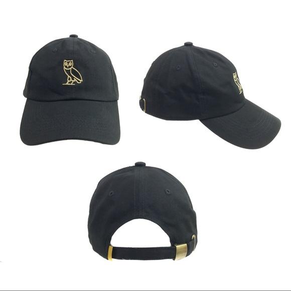 46b62c22 ovo Accessories | Drake Dad Hat Cap Strap Back Black Hats Caps ...