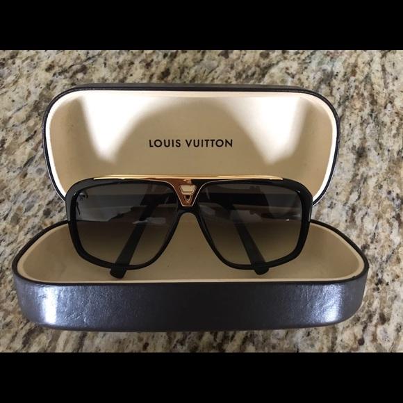 aab8aa65c8c Louis Vuitton Accessories - Authentic Louis Vuitton Evidence Sunglasses  Z0350W