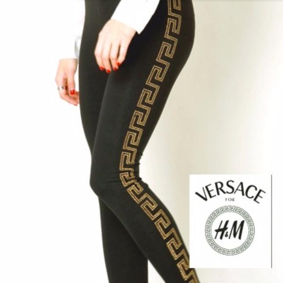 058759b59b67a Flash Sale!!! HPVersace for H&M studded leggings.  M_59af3512d14d7b48e3014cdf