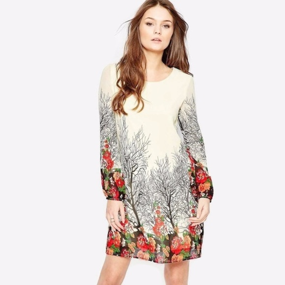 e0f438a0b9d Asos Dresses   Skirts - ASOS Yumi Long Sleeve Shift Dress